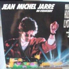 Discos de vinilo: LP DE JEAN MICHEL JARRE, IN CONCERT HOUSTON / LYON (1987), COMO NUEVO. Lote 44715300