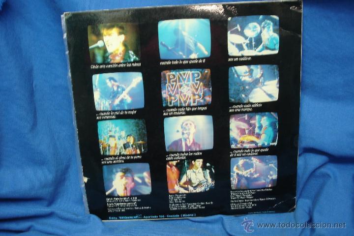 Discos de vinilo: - P.V.P. - ENTRE LAS RUINAS - SUPER 45 - EDITA VEINTIUNO 1984 - PROMO - RARO - Foto 2 - 44716796