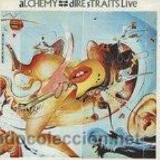 Discos de vinilo: DIRE STRAITS LIVE - ALCHEMY. Lote 44718640