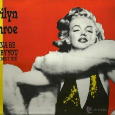 Discos de vinilo: MARILYN MONROE MAXI-SINGLE SELLO ZYS RECORDS EDITADO EN ALEMANIA . Lote 44719702