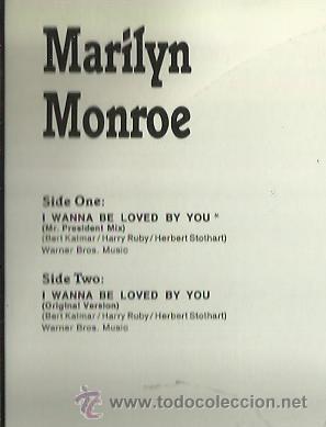 Discos de vinilo: MARILYN MONROE MAXI-SINGLE SELLO ZYS RECORDS EDITADO EN ALEMANIA - Foto 2 - 44719702