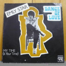 Discos de vinilo: EMLY STAR - DANCE OF LOVE - SINGLE POPLANDIA - P-30615 - ESPAÑA 1978. Lote 44723043