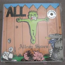 ALL - ALLROY SAVES - LP CRUZ USA 1990 - VINILO AMARILLO