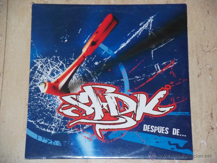 SFDK DESPUES DE.. SPANISH MONSTER HIP-HOP- DIFICIL!!! (Música - Discos de Vinilo - Maxi Singles - Rap / Hip Hop)