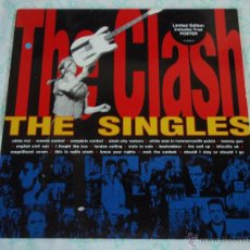Discos de vinilo: THE CLASH ''LIMITED EDITION'' CON POSTER ( THE SINGLES ) ENGLAND-1991 LP33 COLUMBIA. Lote 44728968