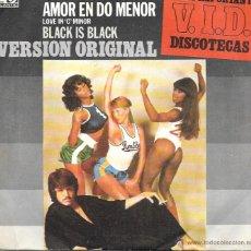 Discos de vinilo: CERRONE - LOVE IN C MINOR (AMOR EN DO MENOR) / BLACK IS BLACK - VERSION ORIGINAL - ATLANTIC - 1977. Lote 44729924