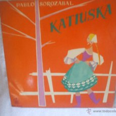 Discos de vinilo: VINILO DE 33 RPM, KATIUSCA,PABLO SOROZABAL.. Lote 44730013