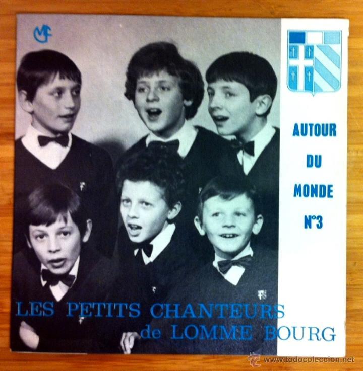 LES PETITS CHANTEURS DE LOMME BOURG - S'NAMI BOG (LITURGIA ORTODOXA RUSA) - BERCEUSE (MOZART) 1974 (Música - Discos de Vinilo - EPs - Clásica, Ópera, Zarzuela y Marchas)