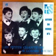 Discos de vinilo: LES PETITS CHANTEURS DE LOMME BOURG - S'NAMI BOG (LITURGIA ORTODOXA RUSA) - BERCEUSE (MOZART) 1974. Lote 44734728