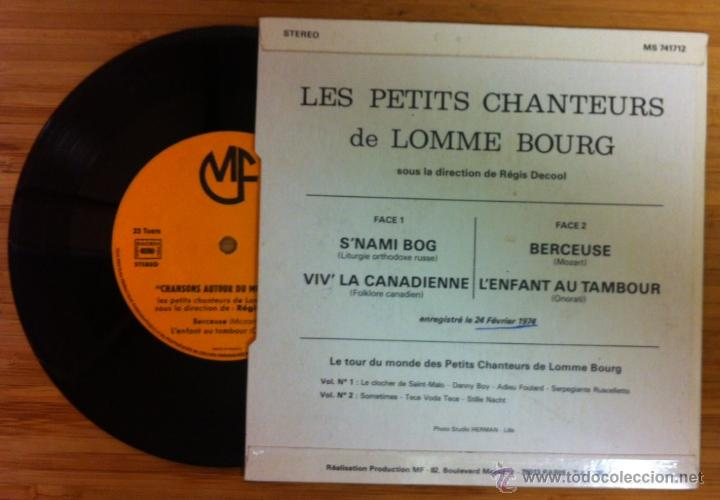 Discos de vinilo: LES PETITS CHANTEURS DE LOMME BOURG - SNAMI BOG (Liturgia ortodoxa rusa) - BERCEUSE (Mozart) 1974 - Foto 2 - 44734728