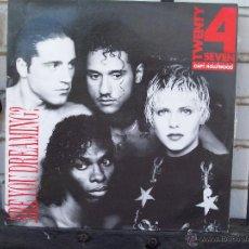 Discos de vinilo: TWENTY 4 SEVEN - ARE YOU DREAMING - MAXI SINGLE. Lote 44734854