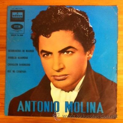 ANTONIO MOLINA - 1962 (Música - Discos de Vinilo - EPs - Flamenco, Canción española y Cuplé)