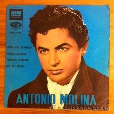 Discos de vinilo: ANTONIO MOLINA - 1962. Lote 200536621
