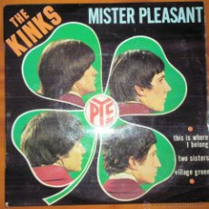 Discos de vinilo: THE KINKS - MISTER PLEASANT - FRANCIA EP. Lote 44736735