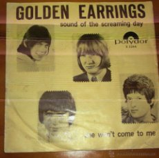 Discos de vinilo: GOLDEN EARRINGS - SOUND OF THE SCREAMING DAY. Lote 44736803