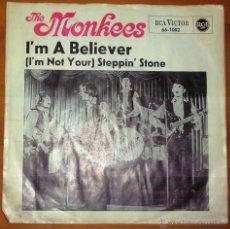 Discos de vinilo: THE MONKEES - I'M A BELIEVER. Lote 44736866
