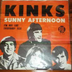 Discos de vinilo: THE KINKS - SUNNY AFTERNOON. Lote 44736878