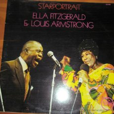 Discos de vinilo: ELLA FITZGERALD & LOUIS ARMSTRONG - STARPORTRAIT FRANCIA. Lote 44737665