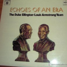 Discos de vinilo: ECHOES OF AN ERA - THE DUKE ELLINGTON - LOUIS ARMSTRONG YEARS 1977. Lote 44737743