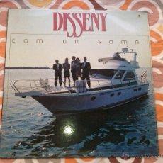 Discos de vinilo: DISSENY - COM UN SOMNI (LP) . Lote 44740052