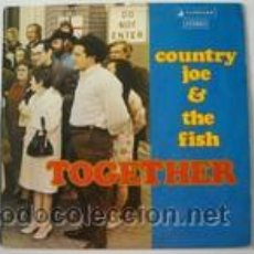 Discos de vinilo: COUNTRY JOE AND THE FISH - TOGETHER. Lote 44742612