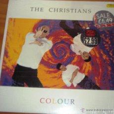 Discos de vinilo: THE CHRISTIANS - COLOUR 1990 EDICIÓN INGLESA. CON ENCARTE Y LETRAS. Lote 44742640