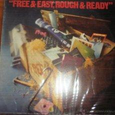 Discos de vinilo: FREE - FREE & EASY, ROUGH & READY 1976. Lote 44742974