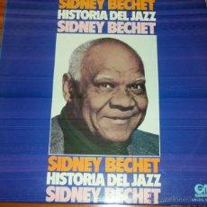 Discos de vinilo: SIDNEY BECHET - HISTORIA DEL JAZZ 1974. Lote 44743500