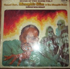Discos de vinilo: MEMPHIS SLIM, CANNED HEAT & THE MEMPHIS HORNS - MEMPHIS HEAT 1975. Lote 44743536