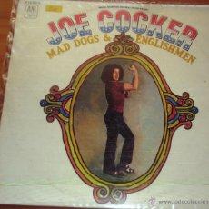 Discos de vinilo: JOE COCKER - MAD DOG & ENGLISHMEN 1976. Lote 44743904