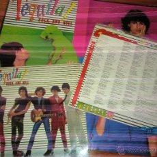 Discos de vinilo: TEQUILA - ROCK AND ROLL 1979. CON POSTER Y LETRAS. Lote 44744053