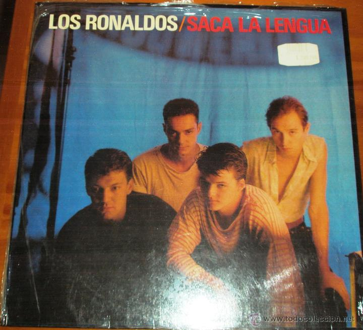 LOS RONALDOS - SACA LA LENGUA. CON ENCARTE 1988 (Música - Discos - LP Vinilo - Grupos Españoles de los 70 y 80)