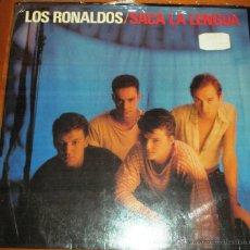Discos de vinilo: LOS RONALDOS - SACA LA LENGUA. CON ENCARTE 1988. Lote 44744131