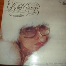 Discos de vinilo: BETTY MISIEGO - SU CANCION 1979. Lote 44744198