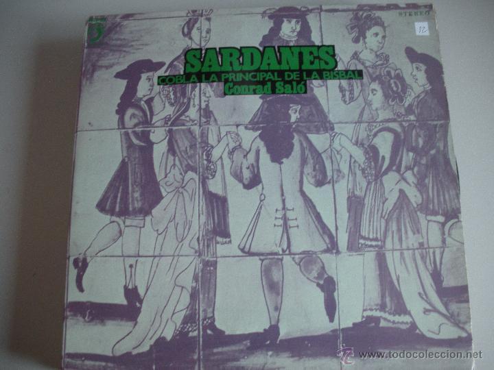 MAGNIFICO LP DE - S A R D A N E S - COBLA - COBLA LA PRINCIPAL DE LA BISBAL - (Música - Discos de Vinilo - EPs - Cantautores Españoles)