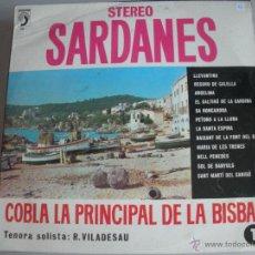 Discos de vinilo: MAGNIFICO LP DE - S A R D A N E S - COBLA - COBLA LA PRINCIPAL DE LA BISBAL -. Lote 44745837
