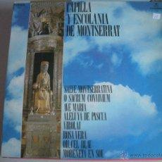 Discos de vinilo: MAGNIFICO LP DE- LA ESCOLANIA DE MONTSERRAT -. Lote 44745855