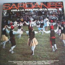 Discos de vinilo: MAGNIFICO LP DE - S A R D A N E S - COBLA - COBLA LA PRINCIPAL DE LA BISBAL -. Lote 44745907