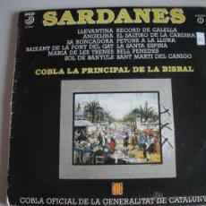 Discos de vinilo: MAGNIFICO LP DE - S A R D A N E S - COBLA - COBLA LA PRINCIPAL DE LA BISBAL -. Lote 44745949