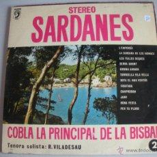 Discos de vinilo: MAGNIFICO LP DE - S A R D A N E S - COBLA - COBLA LA PRINCIPAL DE LA BISBAL -. Lote 44745961