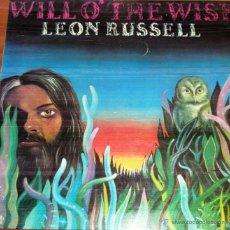 Discos de vinilo: LEON RUSSELL - WILL O' THE WISP - 1976. Lote 44748153