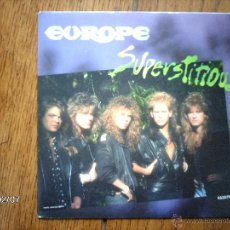 Discos de vinilo: EUROPE - SUPERSTITIOUS + LIGTHS & SHADOWS . Lote 44750546