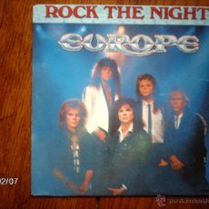 Discos de vinilo: EUROPE - ROCK THE NIGTH + SEVEN DOORS HOTEL . Lote 44750579
