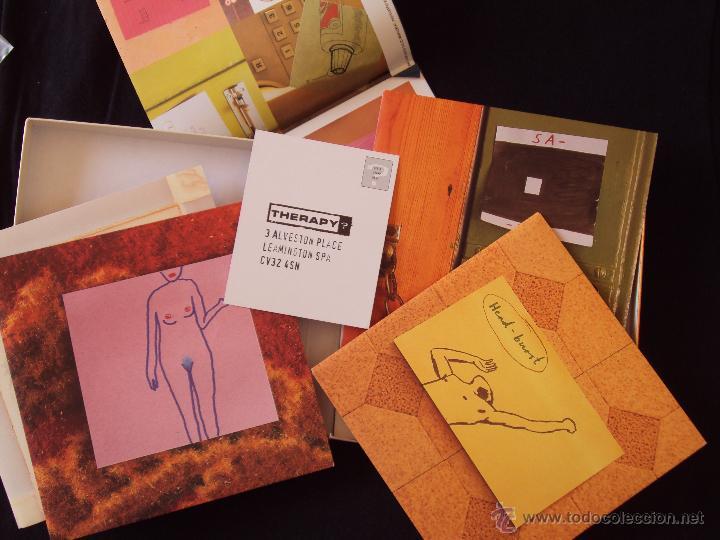 Discos de vinilo: THERAPY, SEMI DETACHED (A&M 1998) BOX SET 6 SINGLES EDICION LIMITADA Y NUMERADA - Foto 2 - 44763783