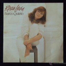 Discos de vinilo: ROSA LEON, BARCO QUIETO (FONOMUSIC 1984) SINGLE - MARIA ELENA WALSH. Lote 44768677