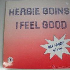 Discos de vinilo: MAGNIFICO LP DE - HERBIE - GOINS -. Lote 44775609