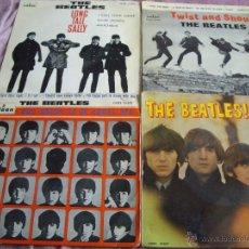 Discos de vinilo: LOTE 4 EPS BEATLES ORIGINALES ESPAÑA. Lote 44781699