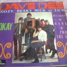 Discos de vinilo: DAVE DEE DOZY...-EP ORIG ESPAÑA. Lote 44782103