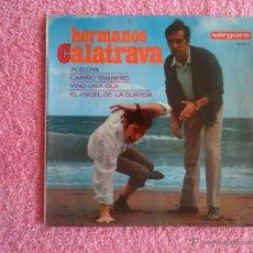 Discos de vinilo: HERMANOS CALATRAVA 1967 VERGARA 10034 ALELUYA DISCO VINILO HUMOR. Lote 44344175