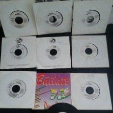 Discos de vinilo: LOTE 10 SINGLES PROMOCIONALES DISCO-TECHNO...VER DESCRIPCIÓN. Lote 44785803